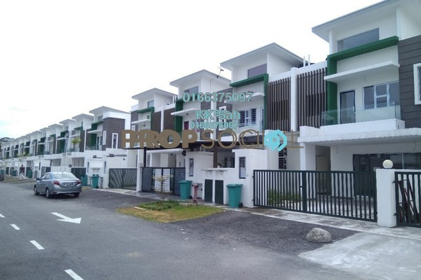 For Sale Superlink at Taman Sri Tanjung, Semenyih Freehold Unfurnished 4R/4B 510k