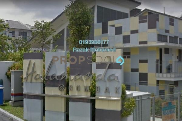 For Sale Semi-Detached at Halamanda, Gombak Freehold Fully Furnished 4R/5B 1.2m