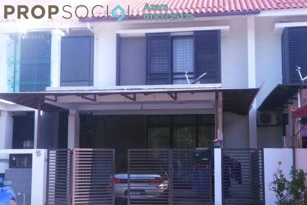 For Rent Terrace at Pentas, Alam Impian Freehold Semi Furnished 5R/6B 1.8k