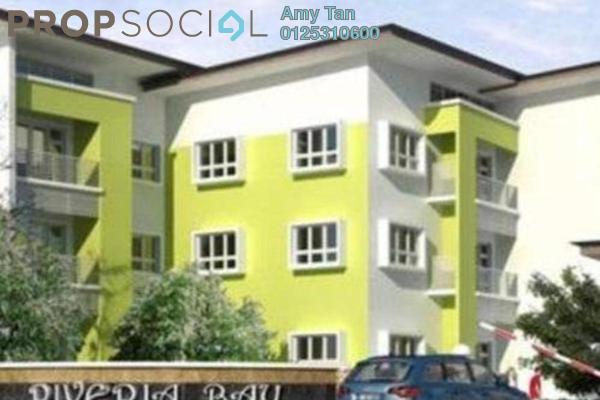 For Sale Apartment at Riveria Bay Apartments, Kota Samarahan Freehold Semi Furnished 3R/1B 400k