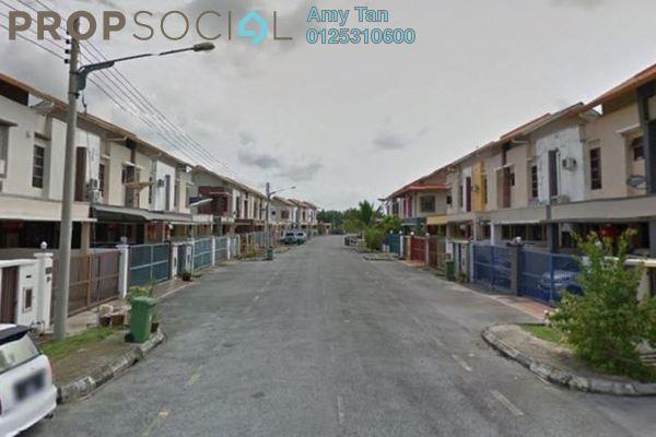 For Sale Terrace at Taman San Chin, Kuching Freehold Semi Furnished 3R/2B 330k