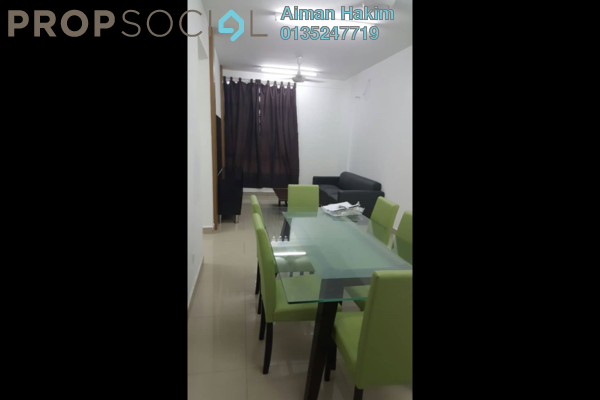 For Sale Serviced Residence at The Arc, Cyberjaya Freehold Fully Furnished 3R/2B 350k