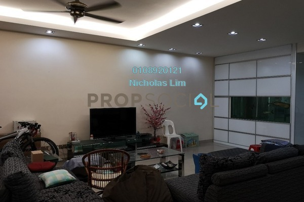 For Sale Terrace at Taman Bukit Serdang, Seri Kembangan Freehold Semi Furnished 5R/2B 1.22m