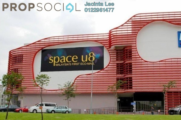 For Sale Office at Space U8, Bukit Jelutong Freehold Unfurnished 0R/2B 496k