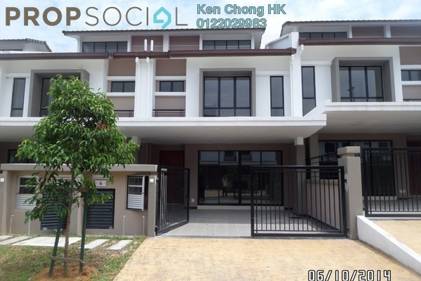 For Sale Terrace at Saffron Hills, Denai Alam Freehold Unfurnished 4R/3B 750k