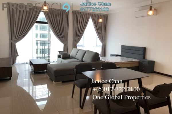 For Rent Serviced Residence at Molek Regency, Johor Bahru Freehold Semi Furnished 0R/1B 1.8k
