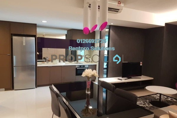 For Rent Condominium at VERVE Suites, Old Klang Road Freehold Fully Furnished 2R/2B 3k