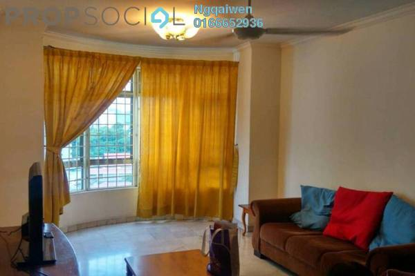 For Rent Condominium at Endah Regal, Sri Petaling Freehold Fully Furnished 3R/2B 1.6k
