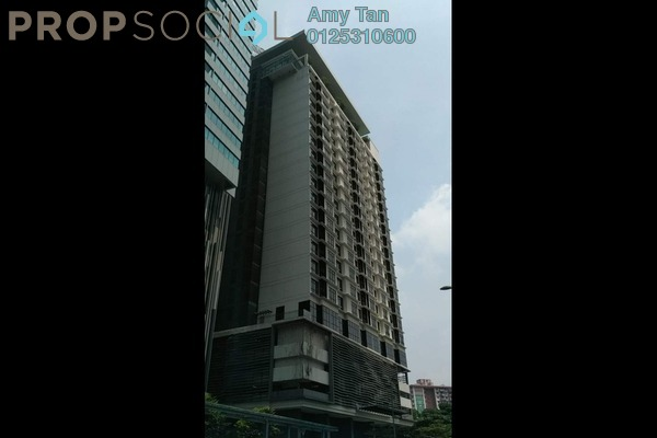 For Sale Serviced Residence at 188 Suites, KLCC Freehold Semi Furnished 1R/1B 559k