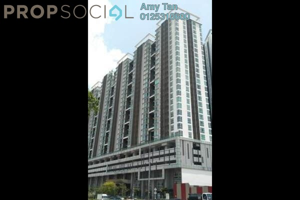 For Sale Serviced Residence at Central Residence, Sungai Besi Freehold Semi Furnished 2R/1B 276k
