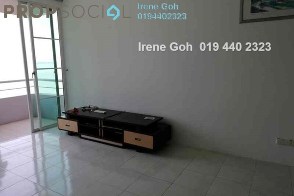 For Rent Condominium at BaysWater, Gelugor Freehold Fully Furnished 3R/2B 1.8k
