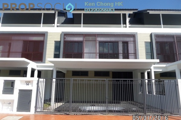 For Sale Superlink at Thistle Grove, Denai Alam Freehold Unfurnished 4R/4B 1.2m