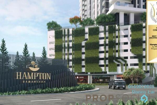 For Sale Condominium at Hampton Damansara, Kuala Lumpur Freehold Semi Furnished 4R/2B 700k