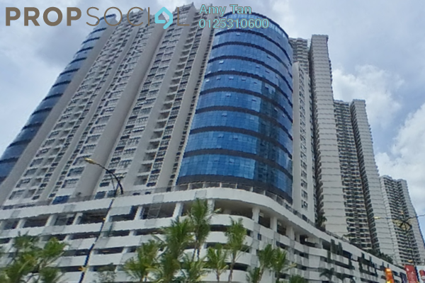 For Sale Apartment at Country Garden Danga Bay, Danga Bay Freehold Semi Furnished 3R/1B 520k