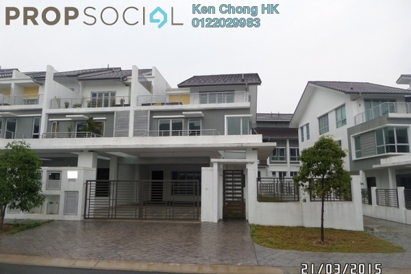 For Sale Superlink at Serissa Terrace, Denai Alam Freehold Unfurnished 5R/5B 1.85m