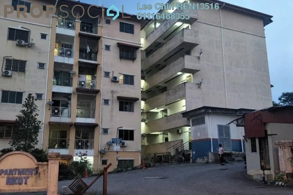 For Sale Apartment at Mahkota 1 Apartment, Bandar Mahkota Cheras Freehold Semi Furnished 3R/2B 228.0千