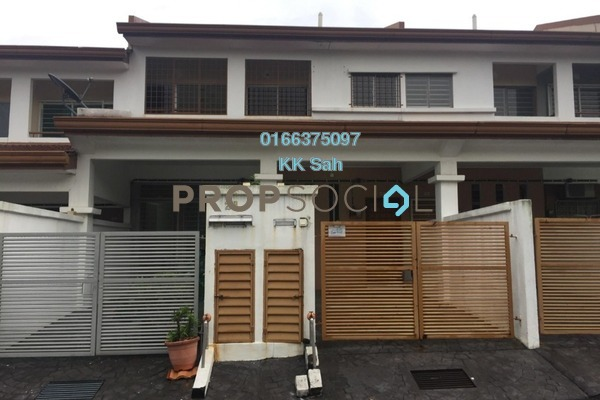 For Sale Townhouse at Bandar Damai Perdana, Cheras South Freehold Semi Furnished 3R/2B 375k