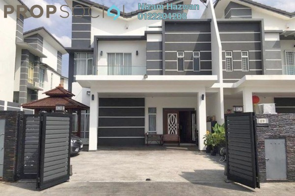 For Sale Semi-Detached at Greenhill Residence, Shah Alam Freehold Semi Furnished 5R/6B 1.38m