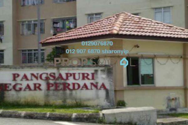 For Rent Apartment at Segar Perdana Apartment, Cheras Freehold Unfurnished 3R/2B 800translationmissing:en.pricing.unit