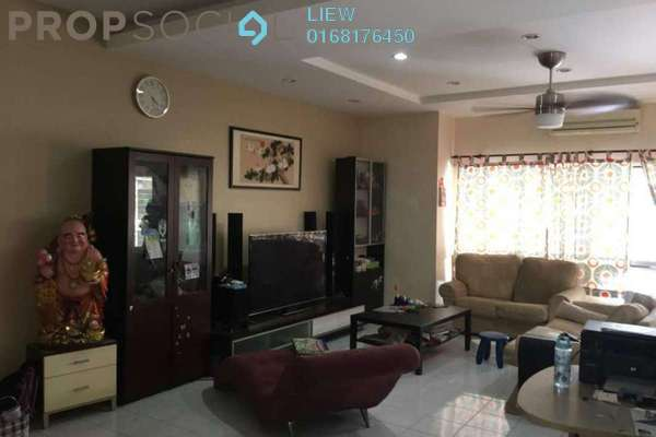 For Sale Terrace at Puteri 8, Bandar Puteri Puchong Freehold Semi Furnished 4R/3B 880k