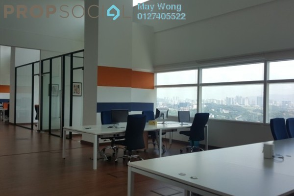 For Rent Office at Q Sentral, KL Sentral Freehold Semi Furnished 0R/0B 15.7k
