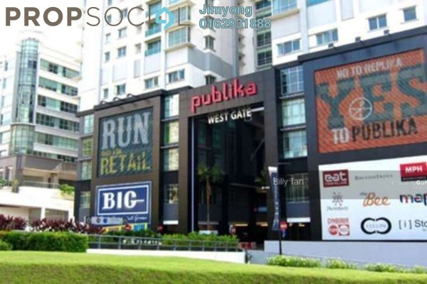 For Sale Shop at Solaris Dutamas, Dutamas Freehold Fully Furnished 0R/1B 2.4m