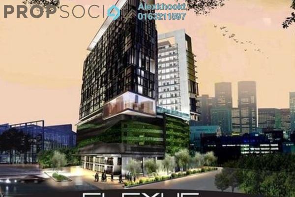 For Rent SoHo/Studio at Flexus Signature Suites, Segambut Freehold Fully Furnished 1R/1B 1.5k