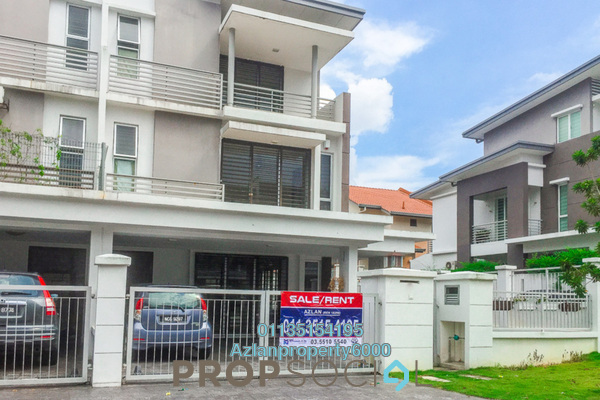 For Sale Terrace at Sunway Alam Suria, Shah Alam Freehold Semi Furnished 5R/5B 900k