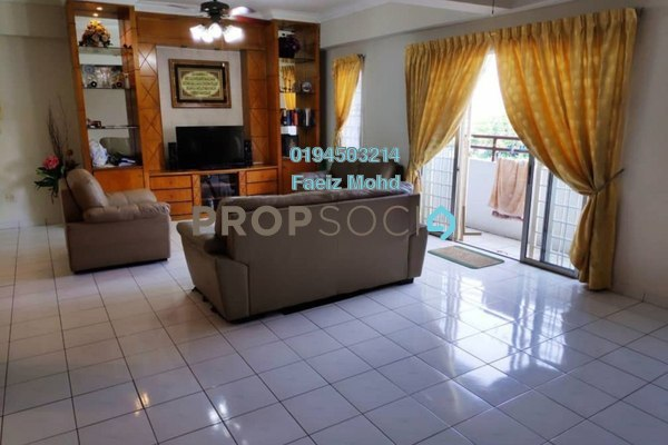 For Sale Condominium at Endah Ria, Sri Petaling Freehold Fully Furnished 3R/2B 470k
