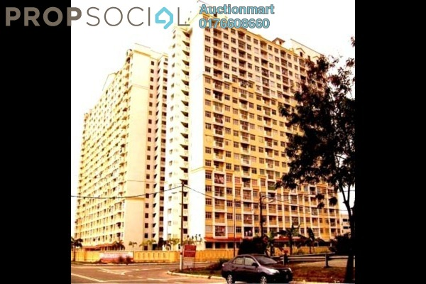 For Sale Apartment at Villa Crystal, Segambut Leasehold Unfurnished 0R/0B 153k