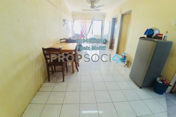 For Sale Apartment at Section 13, Shah Alam Leasehold Unfurnished 3R/2B 225k