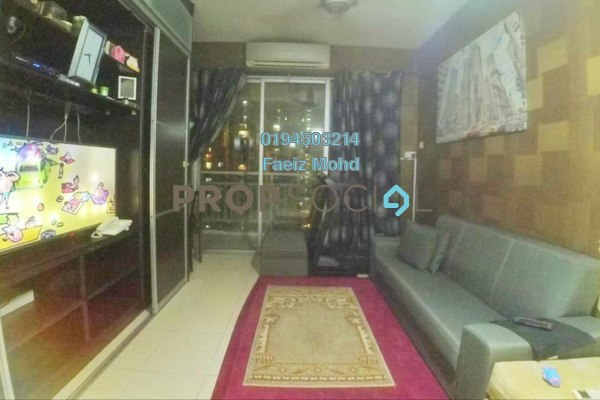 For Sale Condominium at Platinum Lake PV10, Setapak Freehold Semi Furnished 3R/2B 450k