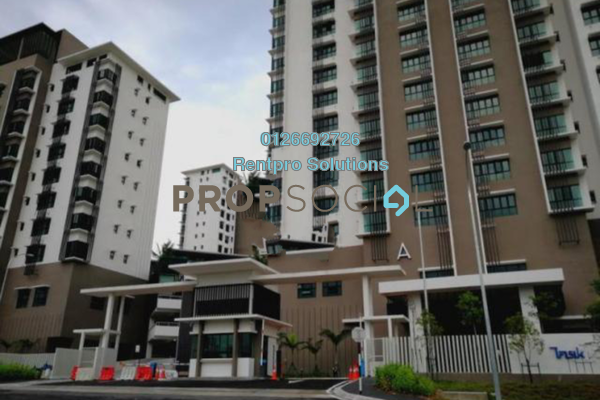 For Rent Condominium at Lake Vista Residence, Bandar Tun Hussein Onn Freehold Semi Furnished 3R/2B 2k