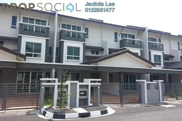 For Sale Terrace at Prai Tropika, Seberang Jaya Freehold Semi Furnished 5R/4B 407k