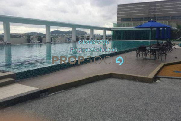 For Rent Apartment at Amerin Mall & Residence, Balakong Freehold Semi Furnished 2R/2B 1.25k