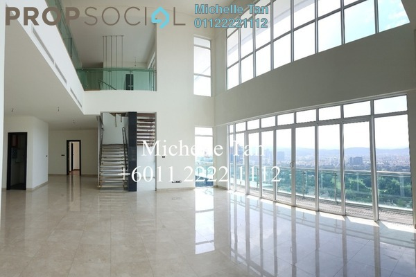 For Sale Duplex at The Pearl, KLCC Freehold Semi Furnished 4R/7B 5.93m