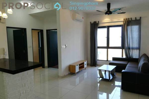 For Rent Condominium at The Link 2 Residences, Bukit Jalil Freehold Fully Furnished 2R/1B 1.7k