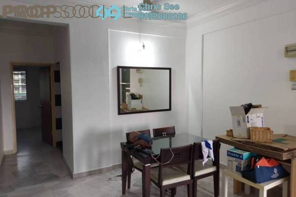 For Rent Apartment at Seri Kasturi, Bandar Kinrara Freehold Semi Furnished 3R/2B 1.3k
