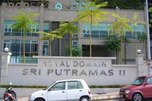 For Rent Condominium at Sri Putramas II, Dutamas Freehold Semi Furnished 3R/2B 2.2k