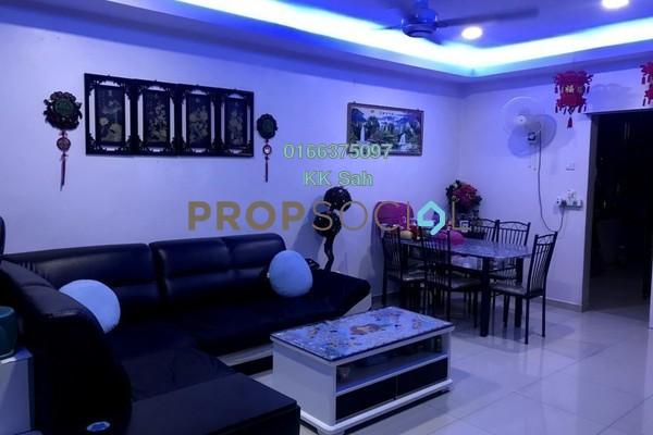 For Sale Terrace at Section 6, Bandar Mahkota Cheras Freehold Semi Furnished 4R/3B 485k