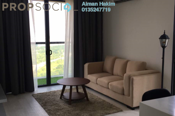 For Rent Serviced Residence at Sky Park, Cyberjaya Freehold Fully Furnished 2R/2B 1.8k