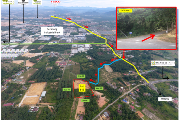 For Sale Land at Beranang Industrial Park, Semenyih Freehold Unfurnished 0R/0B 3.5m