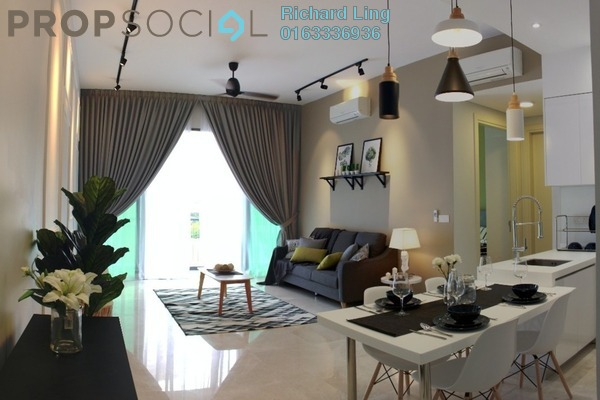For Rent Serviced Residence at Vogue Suites One @ KL Eco City, Mid Valley City Freehold Fully Furnished 2R/2B 4.3k