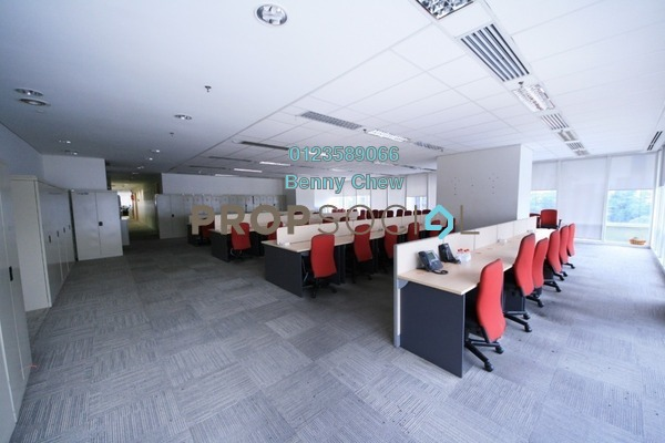 For Rent Office at CapSquare Tower, Dang Wangi Freehold Fully Furnished 0R/0B 136k