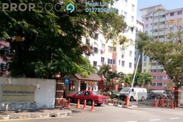 For Rent Apartment at Taman Pinggiran USJ, Subang Jaya Freehold Semi Furnished 3R/2B 1k