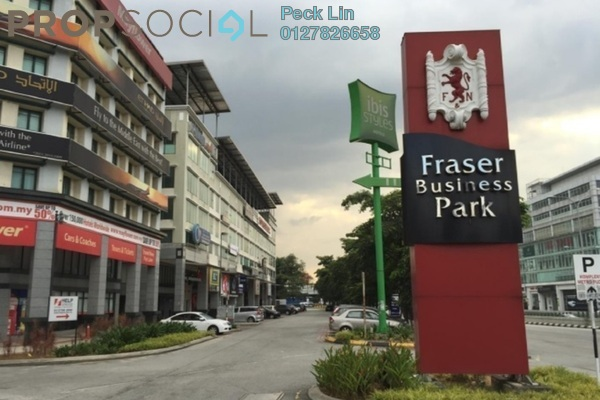 For Rent Shop at Fraser Business Park, Sungai Besi Freehold Unfurnished 0R/2B 12k