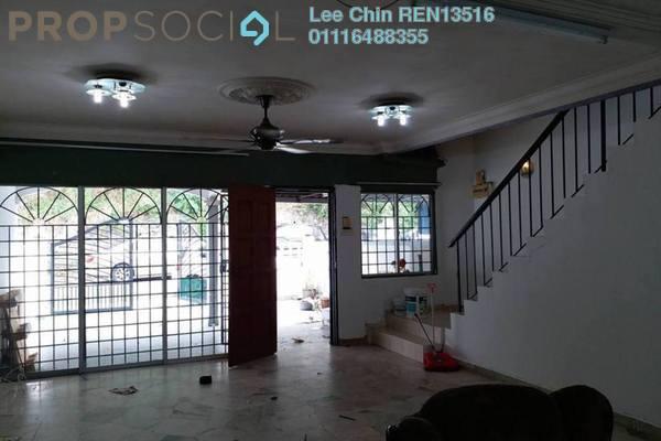 For Sale Terrace at Taman Cheras Awana, Cheras Freehold Semi Furnished 4R/3B 560k