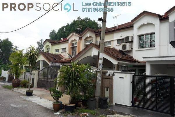 For Sale Terrace at Section 6, Bandar Mahkota Cheras Freehold Semi Furnished 4R/3B 460.0千
