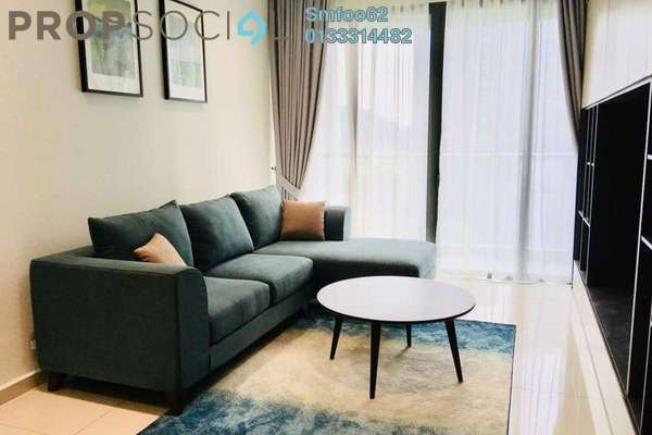 For Rent Condominium at Infiniti3 Residences, Wangsa Maju Freehold Fully Furnished 2R/2B 3k