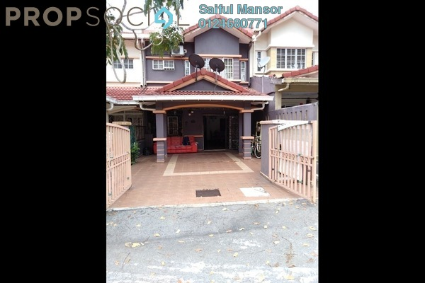 For Sale Terrace at Taman Dato Demang, Bandar Putra Permai Freehold Semi Furnished 4R/3B 550k